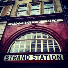 Strand (Aldwych) Tube Station entrance